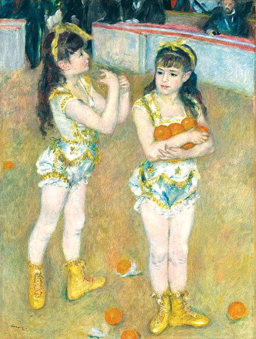 Acrobats at the Cirque Fernando