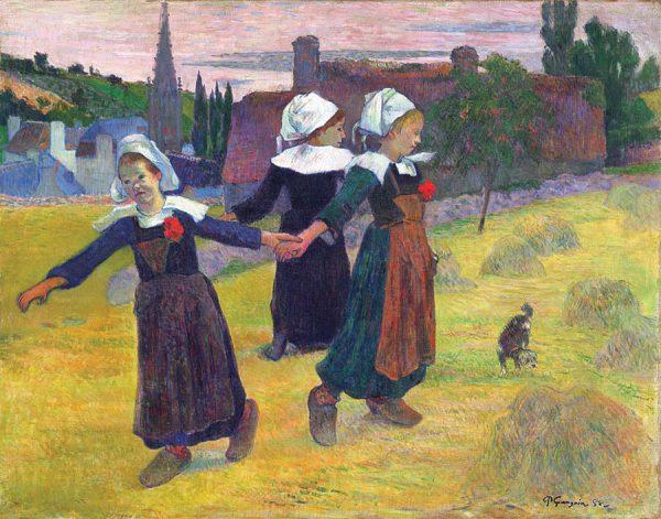Breton Girls Dancing, Pont Aven
