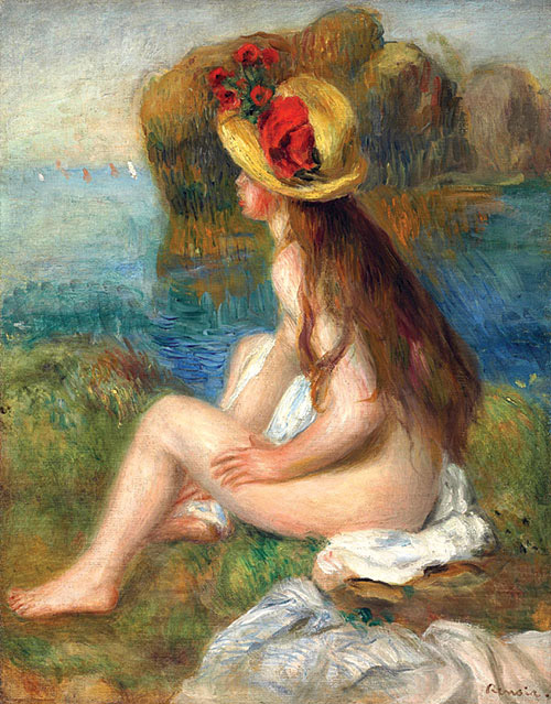 Nude in a Straw Hat