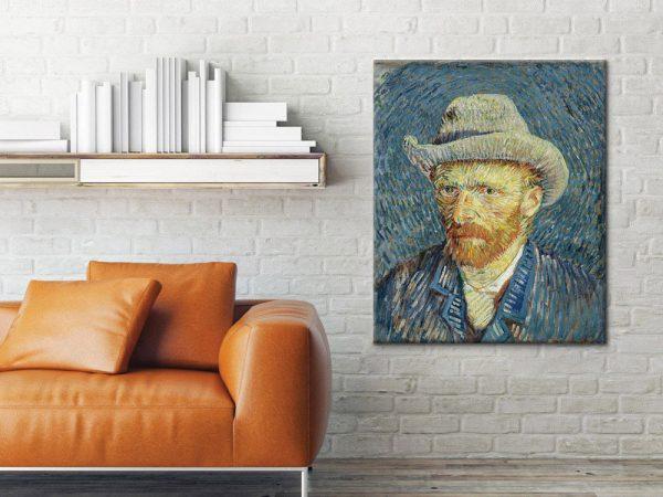 Selfportrait-with-grey-felt-hat