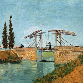 The-Bridge-of-Langlois-at-Arles
