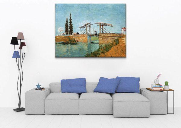 The-Bridge-of-Langlois-at-Arles
