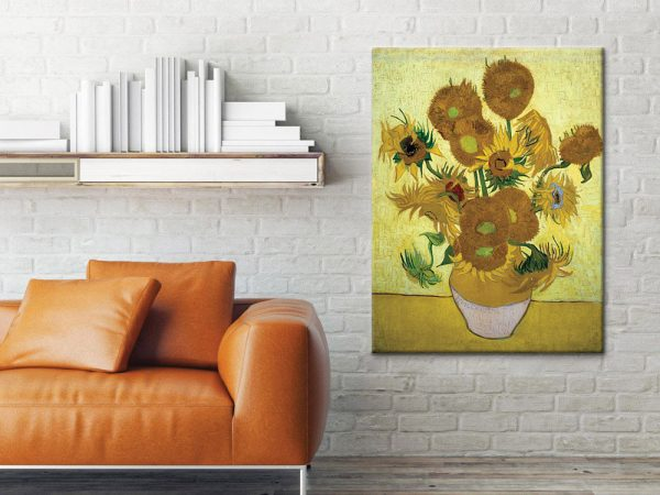 Vase-with-Fifteen-Sunflowers