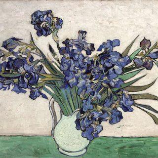 Vase-with-Irises