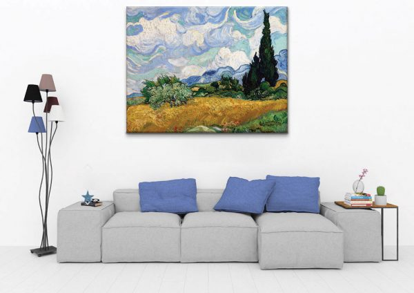 Wheat-Field-with-Cypresses