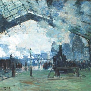 Arrival of the Normandy Train, Gare SaintLazare