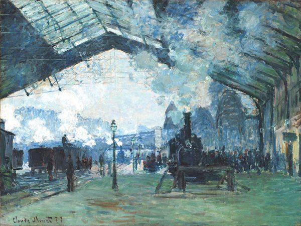 Arrival of the Normandy Train, Gare SaintLazare