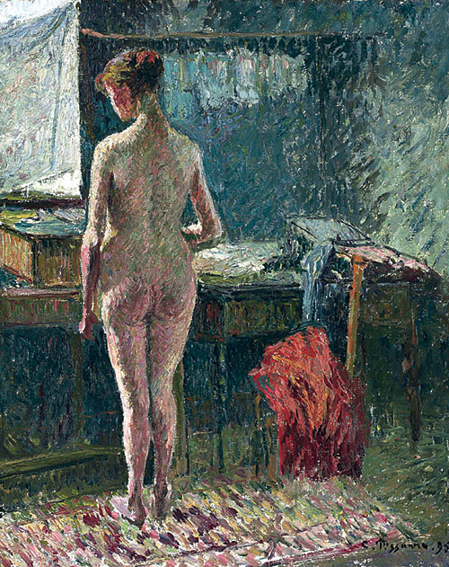 Female Nude at the Interior
