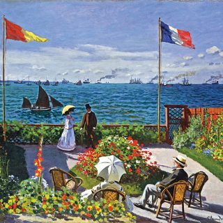 Garden at Sainte Adresse