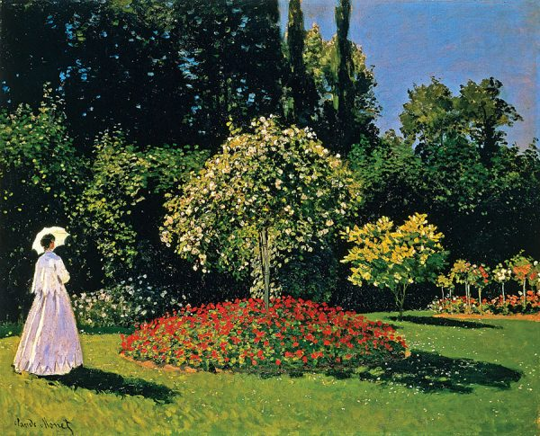 Jeanne Marguerite Lecadre in the Garden