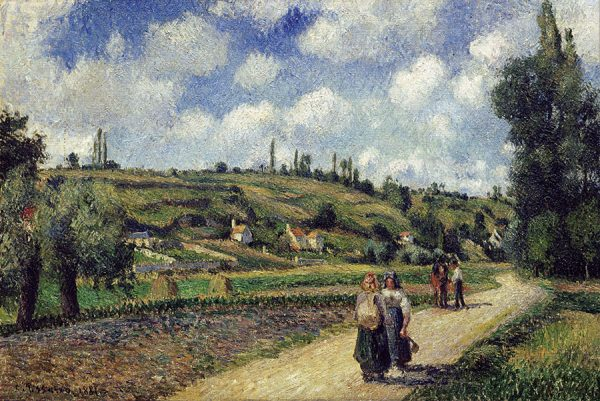Landscape near Pontoise the Auvers Road