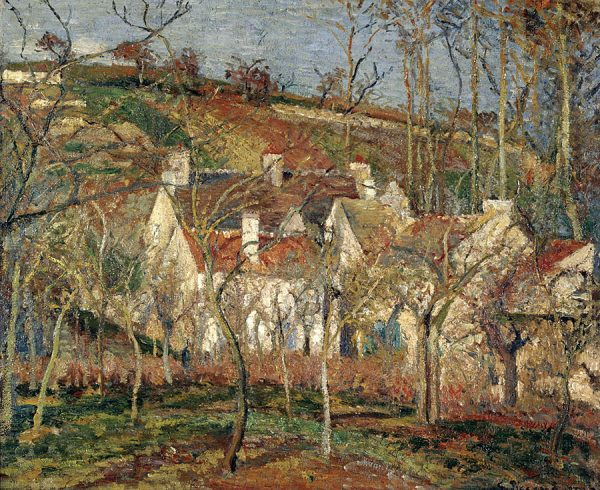 Red roofs, Corner of a Village