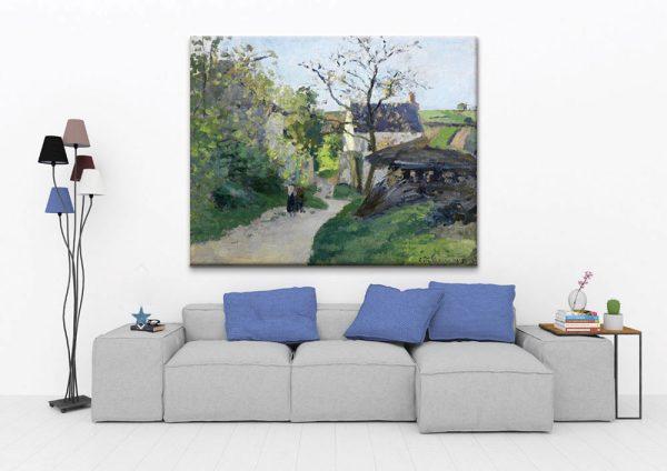 The Great Walnut Tree, the Rondesr House, Pontoise
