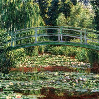 The Japanese Bridge and the Water Lily PooL Giverny